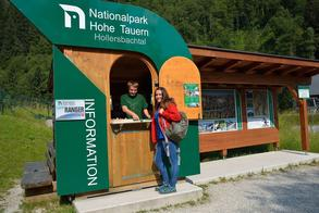 Info station at the valley entrance (c) National Park Hohe Tauern