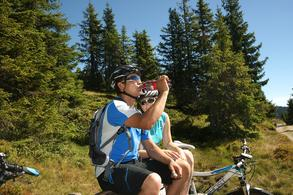 Cycling and mountain biking (c) Tourist Office Piesendorf Niedernsill, Photo Harry Liebmann