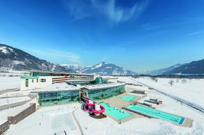 Aerial view winter (c) TAUERN SPA Zell am See - Kaprun