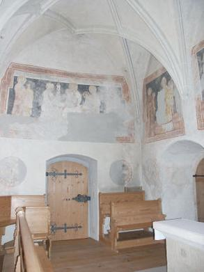Wandmalereien in der Michaelskapelle
